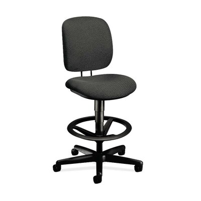 HON ComforTask Height Adjustable Task Stool with Footring