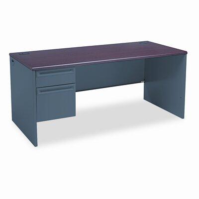 """HON 38000 Series 66""""W x 30""""D Pedestal Desk"""