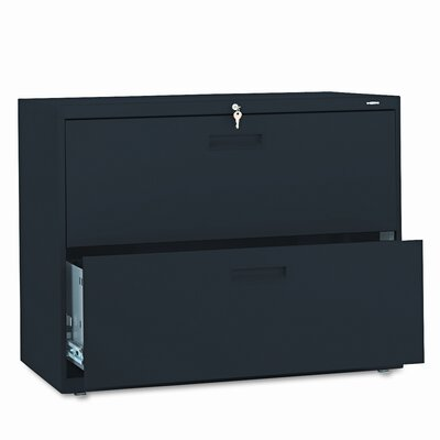 """HON 500 Series 36""""W 2-Drawer Lateral File"""