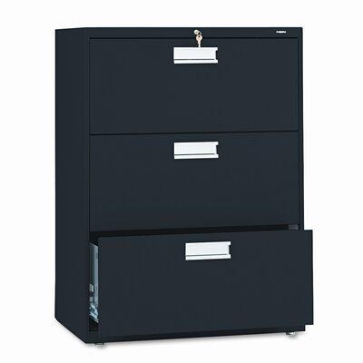 """HON 600 Series 30""""W 3-Drawer File"""