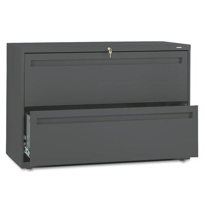 """HON 700 Series 42""""W 2-Drawer File"""
