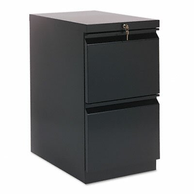 "HON Brigade 22.88""D Mobile 2-Drawer Pedestal File"