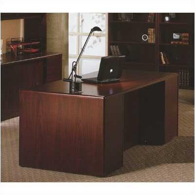 HON 10700 Double 3/4 Pedestal Desk
