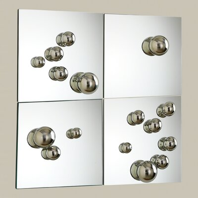 4 Piece Sphere Mirrors by Global Views