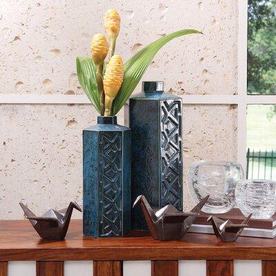 Bezel Vase by Global Views