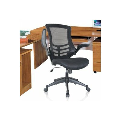High-Back Mesh Conference Chair with Wheels by Manhattan Comfort
