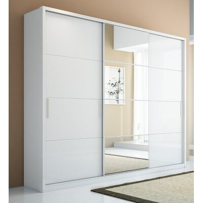 Bellevue Armoire in White Gloss Product Photo