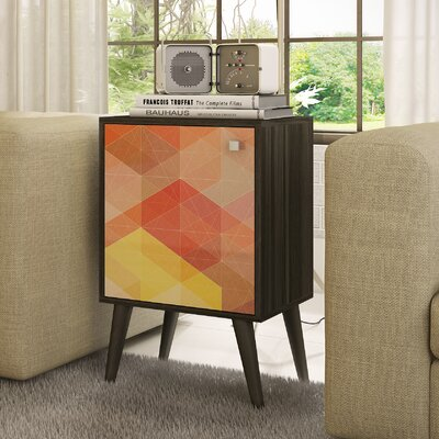 Accentuations Funky Avesta Side Table by Manhattan Comfort