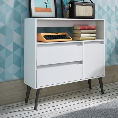 Accentuations Functional Gota High Side Table by Manhattan Comfort