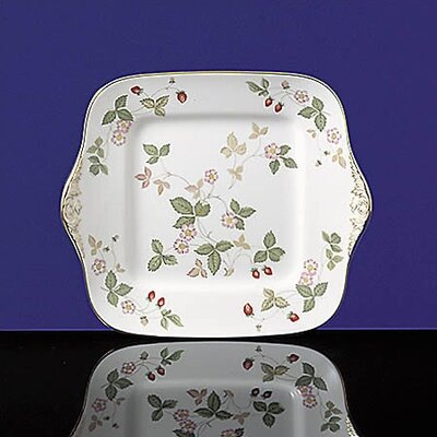 Wedgwood Wild Strawberry Square Cake Stand