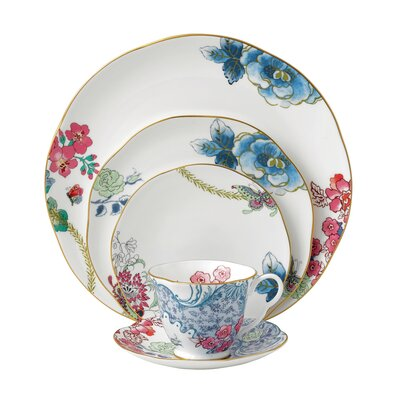 Harlequin Butterfly Bloom Dinnerware Collection by Wedgwood