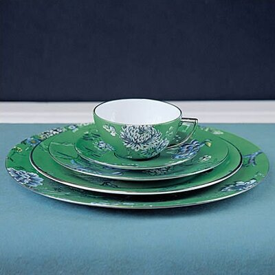 Chinoiserie Green Dinnerware Collection by Jasper Conran