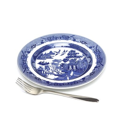 """Johnson Brothers Willow Blue 7.75"""" Salad Plate"""