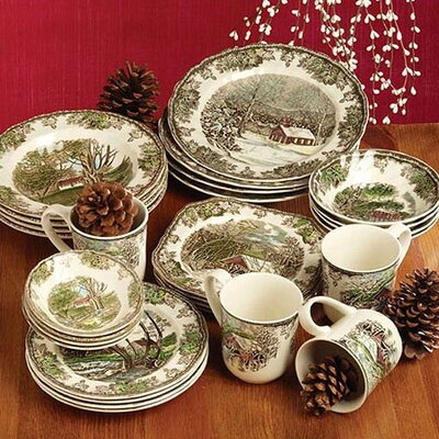 Friendly Village Dinnerware Collection by Johnson Brothers