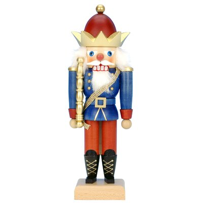 King with Gold Crown Nutcracker by Christian Ulbricht