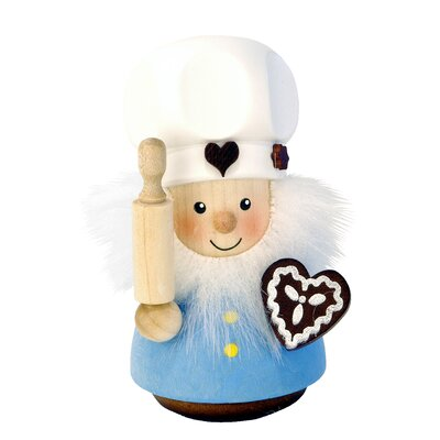 Christian Ulbricht Gingerbread Baker Ornament