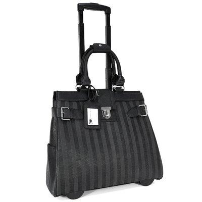Lazer Stripes Laptop Briefcase by Cabrelli