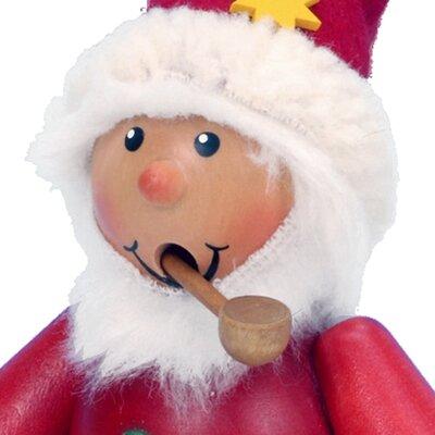 Alexander Taron Seiffener Nussknackerhaus Sitting Santa Incense Burner