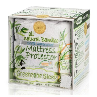 Sleep Terry Crib Mattress Pad by Greenzone