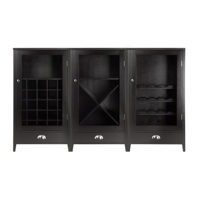 3 Piece Wine Cabinet Set by Winsome