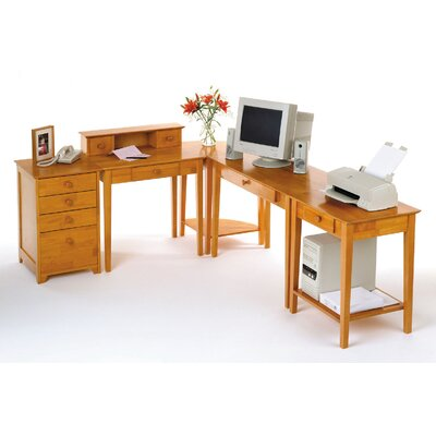 Winsome Studio Computer Desk with Keyboard Tray