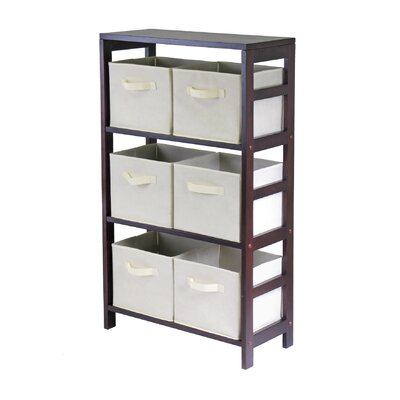 Capri 6 Drawers Storage Shelf by Winsome