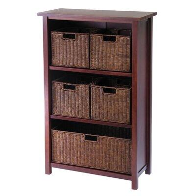 Milan 5 Drawers Storage Shelf by Winsome