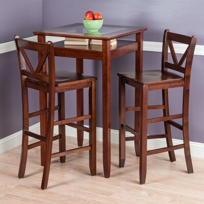 3 Piece Pub Table Set by Alcott Hill