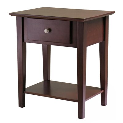 Shaker 1 Drawer Nightstand by Winsome