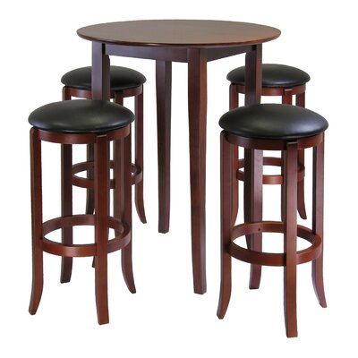 Fiona 5 Piece Pub Table Set by Winsome