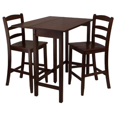 Winsome Lynnwood 3 Piece Dining Table Set