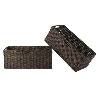 Winsome Granville Foldable Large Corn Husk Basket