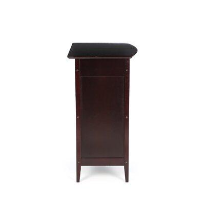 Winsome Espresso Bar Cabinet with Wine Storage