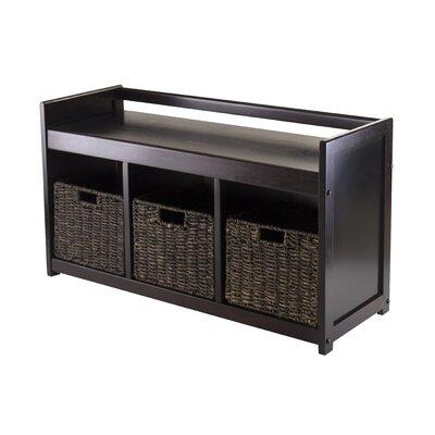 Addison 4 Piece Wood Storage Bench Set by Winsome