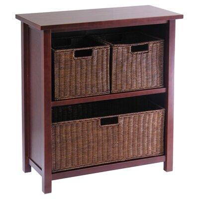 Winsome Milan 3 Drawer Storage Shelf