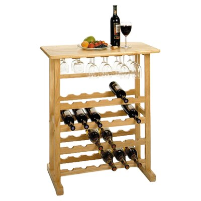 Basics 24 Bottle Wine Rack by Winsome