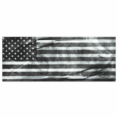 Maps & Landscapes American Glory Black & White Modern Patriotic by Amber LaRosa Graphic Art ...
