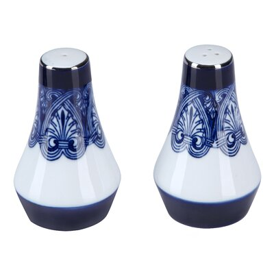 Tile Salt and Pepper Shaker by Bombay Heritage