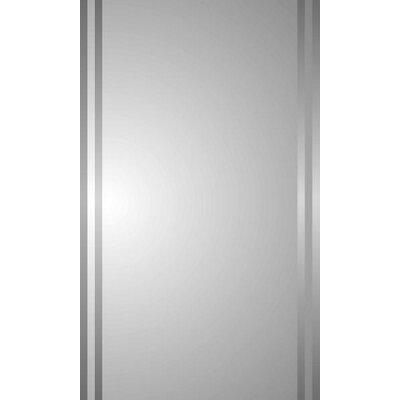 "Spacecab Mintaka 16"" x 26"" Recessed Beveled Edge Medicine Cabinet Product Photo"