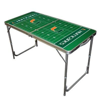 "Tailgate Toss NCAA 24"" x 48"" Tailgate Table"