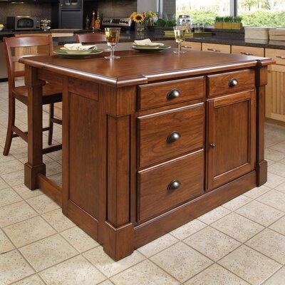 Aspen Kitchen Island Set Product Photo