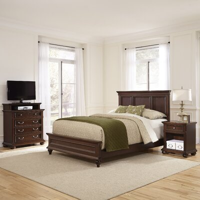 Colonial Classic Panel Customizable Bedroom Set by Home Styles