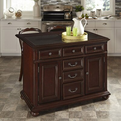 Colonial Classic Kitchen Island with Granite Top Product Photo