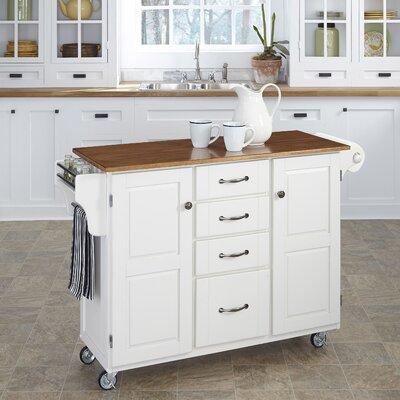 Create-a-Cart Kitchen Island Product Photo