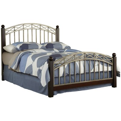 Bordeaux Metal Bed