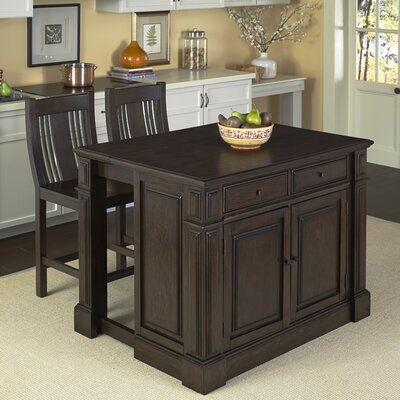 Prairie Home 3 Piece Kitchen Island Set (Set of 3) Product Photo