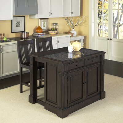 Prairie Home 3 Piece Kitchen Island Set Product Photo