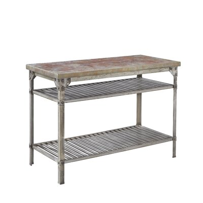 Urban Style Prep Table with Concrete Top Product Photo
