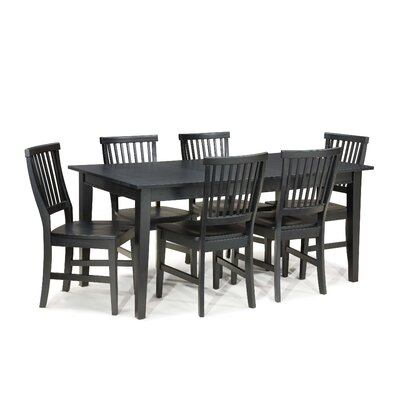 Arts and Crafts 7 Piece Dining Set by Home Styles