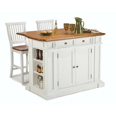 3 Piece Kitchen Island Set Product Photo